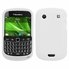 Solid Skin Case Cover Translucent White For Blackberry Bold 9900 Bold 9930