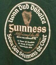 St Patrick's Dublin Ireland Gaelic Guinness Stout T-Shirt Irish Green Ale Beer