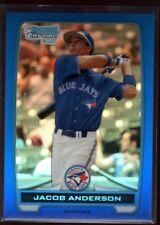 JACOB ANDERSON JAYS 248/250 BLUE REFRACTOR ROOKIE CARD RC SP 2012 BOWMAN CHROME