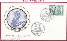 ITALIA FDC ROMA LUXOR 383 SANTO NATALE SACRA FAMIGLIA 1988 CAMPIONE Z515