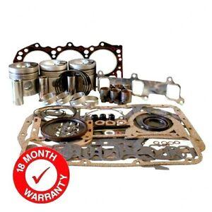 Motor Restauración Kit (sin Aceite Bolsas) Para Algunos Ford 3000 Tractores