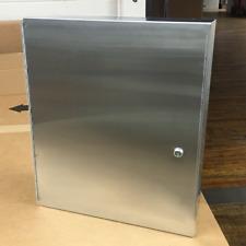 Royce Rolls Stainless Steel 16 X 20 X 6 Medicine Cabinet
