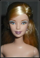 NUDE BARBIE MATTEL GRAND ENTRANCE BLONDE BLUE EYES MACKIE FACE DOLL FOR OOAK