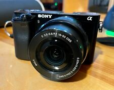 Sony Alpha a6000 24.3MP MIRRORLESS Camera - BUNDLE - GREAT CONDITION