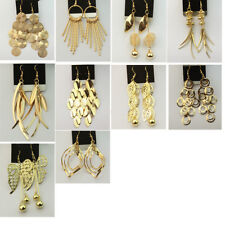 Wholesale Lots 10 Pairs Bulk Jewellery Lots Gold Dangle Earrings Hot Eardrop