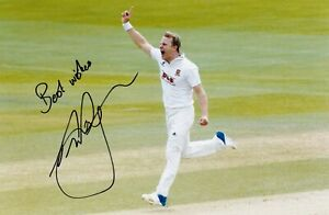SALE NEIL WAGNER ESSEX CRICKET HAND SIGNED PHOTO AUTHENTIC + COA - 12x8