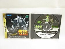 METAL SLUG Sega Saturn SNK Import Japan Video Game ss