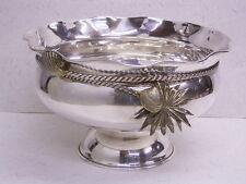 Cuenco de plata/accesorio de mesa: cuenco: 900er plata: 723 G: cordel & Concha-Dekor