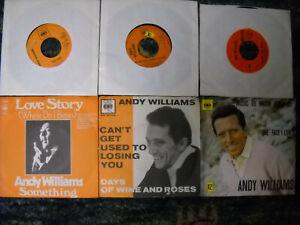 Andy Williams -  Sammlung 6 Singles