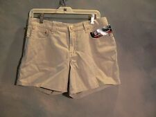 NEW WITH TAGS $ 39.00 RALPH LAUREN POLO JEANS CO. LADIES SHORTS SZ 6 PUTTY COLOR