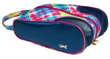Glove It Ladies Golf Shoe Bag. Electric Plaid Design