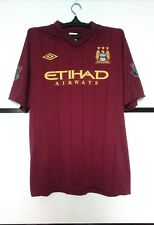 Manchester City 2012 - 2013 away football shirt jersey #12 CHAMPIONS size 46