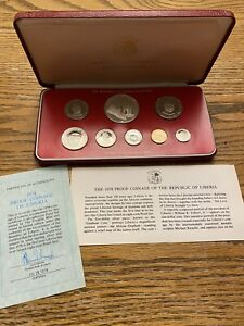 1978 Proof Coinage Of The Republic Of Liberia