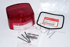 HONDA NEW TAILLIGHT TAIL LIGHT LENS w/ OEM GASKET & SCREWS 0250-300GS