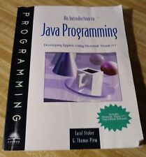 Introduction To Java Programming Thomas Plew and Carol Stoker 1997