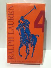 RALPH LAUREN BIG PONY 4 EDT 125ml Spray Men's Perfume NEW & SEALED BOX