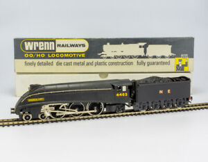 Wrenn Railways W2282 A4 Sparrow Hawk N.E. Black Locomotive - Boxed