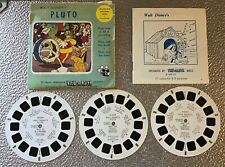 More details for pluto,vintage view master reels full set,with booklet,b5291,b5292,b5293