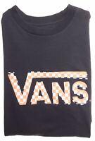 VANS Boys Graphic T-Shirt Top 11-12 Years Medium Black Cotton  M205
