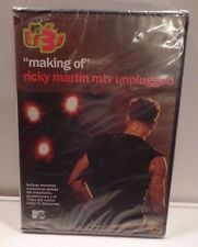 MTV TR3 MAKING of RICKY MARTIN MTV UNPLUGGED DVD Covers in Spanish SEALED DVD