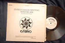 Embryo Sales Meeting Winter 1970 - Promo LP