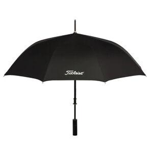 New Titleist Golf Professional Single Canopy Umbrella - Black