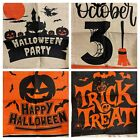 Halloween Pillow Covers 18x18 Inch Set of 4 Fall Throw Pillowcase - NEW