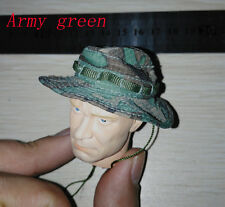 1/6 soldier hat model army green and rice white