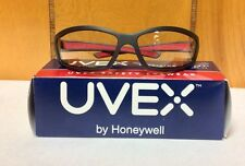 SX0406 Honeywell Uvex Solarpro Charcoal/red Frames