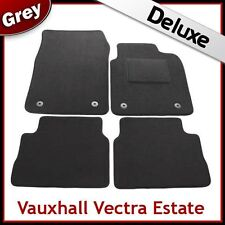 VAUXHALL VECTRA C Estate 2002-2008 Tailored LUXURY 1300g Carpet Car Mats GREY