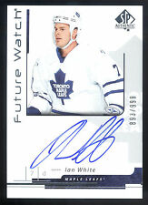 06/07 SP Authentic #205 Ian White On Card Autograph RC #893/999