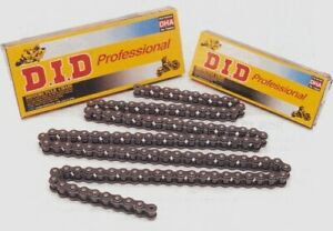 D.I.D DID Chain 420 NZ3-100 Links GOLD Clip Masterlink Included Black 420NZ3-100