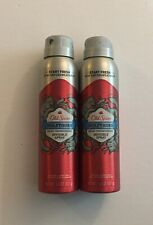 2 Old Spice Invisible Spray Antiperspirant & Deodorant Wolfthorn 3.8oz Body