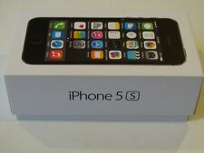 NEW Genuine Empty RETAIL Box Only Apple iPhone 5S 16GB Space Gray - No Device