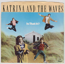 KATRINA AND THE WAVES - IS THAT IT? - I REALLY TAUGHT ME WATUSI  - 1986 - 45 RPM