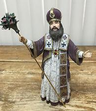 Duncan Royale Le St Basil 13383 History Christmas Santa Claus Iii 1990 Figurine
