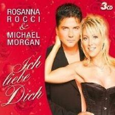 """ROSANNA ROCCI &MICHAEL MORGAN """"ICH LIEBE DICH"""" 3 CD NEU"""
