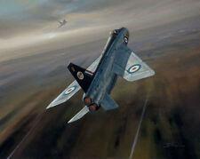 English Electric Lightning 74 Squadron Aviation Painting Art Print Darryl Legg
