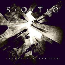JEFF SCOTT SOTO - INSIDE THE VERTIGO - CD DIGIPACK NEW SEALED 2015