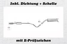 Fiat Bravo II 1.4 16V Auspuffanlage Auspuff Endtopf Mitteltopf Dichtung Schelle