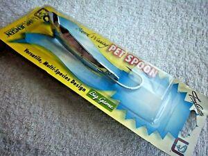 Luhr-Jensen Pet Spoon Tony Accetta 4981-017-0013 Size 17 Chrome Cast & Trolling