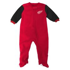 NHL Full Zip Front Team Color Blanket Sleeper Coverall Infant (0-24 Months)