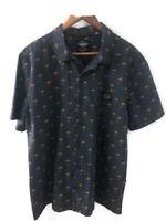 Mambo Men's Size XL Shirt Short Sleeve Palm Pattern
