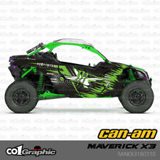 GRAPHICS DECALS STICKERS FULL KIT FOR CAN-AM MAVERICK X3