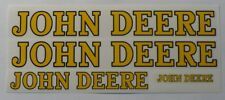 DECAL SET for A or 60  John Deere Toy Pedal Tractor Adhesive Backed    JP1