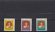 a122 - MALAYSIA - SG787-789 MNH 1999 INSTALLATION OF NEW SULTAN