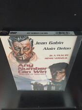 ANY NUMBER CAN WIN DVD JEAN GABIN ALAIN DELON NEW