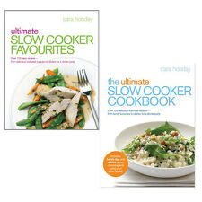 The Ultimate Slow Cooker Cookbook Collection Cara Hobday 2 Books Set Pack NEW PB