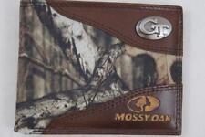ZEP PRO Georgia Tech Yellow Jackets Mossy Oak Camo  Bifold Wallet TIN GIFT BOX
