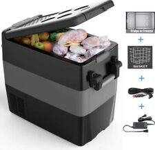 50L Portable Rv Refrigerator Freezer 53 Quart Electric Compressor Car Cooler